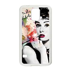 Audrey Hepburn Brand New And Custom Hard Case Cover Protector For Samsung Galaxy S5