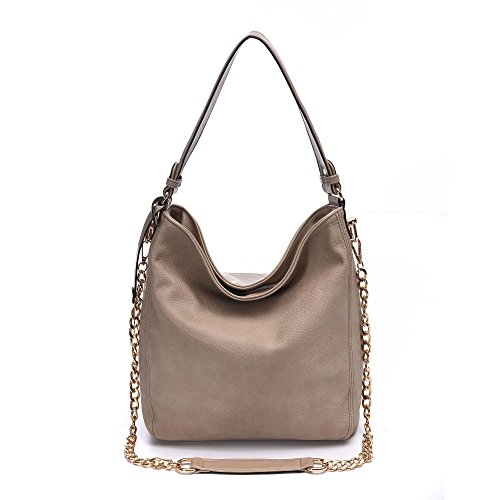 BIG SALE- Women Leather Handbags Classic Purses Hobo Bags Vintage Shoulder Crossbody Bags For Fall Winter Shop Work Meeting (905 beige 2)
