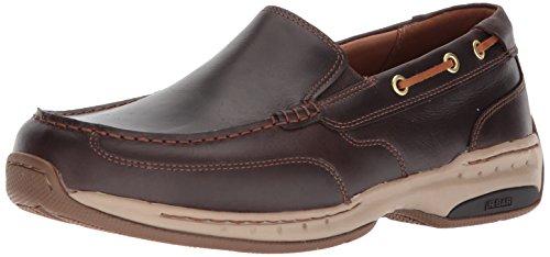 On Dunham Slip - Dunham Men's Waterford Slipon Boat Shoe, tan, 12 6E US