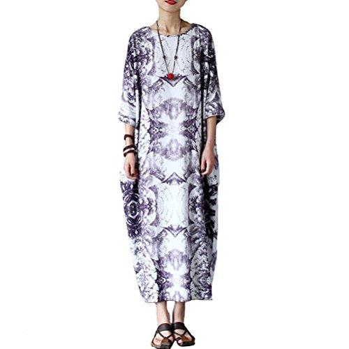 Vestido de de Algod Vestido mujer Aeneontrue Aeneontrue Algod mujer xHwqUx