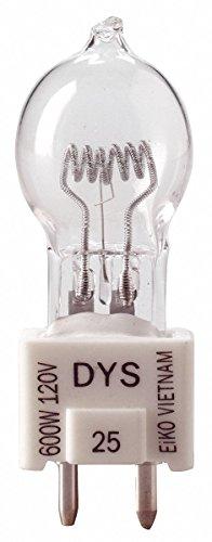 EIKO 600W, T6 Halogen Reflector Light Bulb - Prefocus Base Eiko Light Bulb