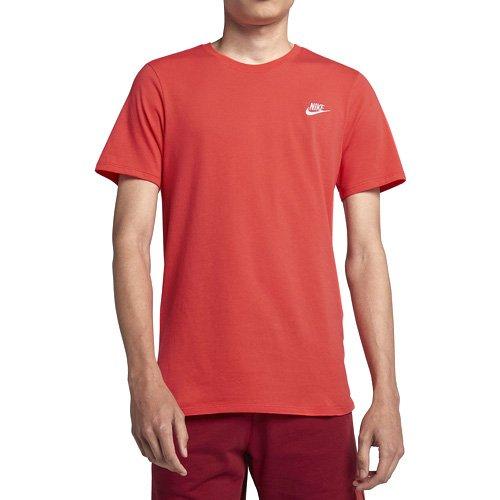 8748036169d1 Nike Men s Sportswear T-Shirt - Rush Coral White - 827021-816 at ...