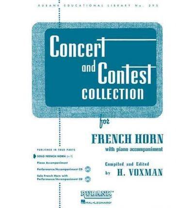 [(Concert and Contest Collection: For French Horn with Piano Accompaniment)] [Author: H Voxman] published on (April, 1989)