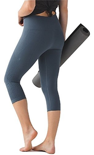 Lululemon Flow & Go Crop III Yoga Pants (Astro Blue, 4)