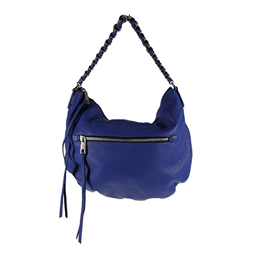 MARC JACOBS - BORSA A MANO BLU REALE IN PELLE - ONE