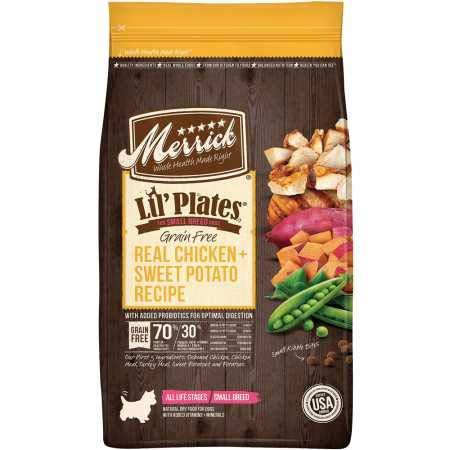 1.Merrick Lil Plates Grain Free Small Breed Recipe