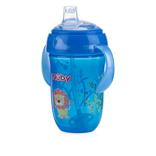(Nuby 360 2 Handle Comfort Cup, Boy, 9 Ounce, Colors May Vary)