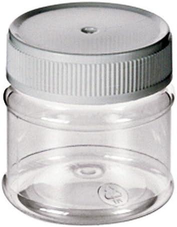 Caja de plástico translúcido 50 ml - pequeña caja-lata vacía PET ...