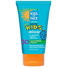 Kiss My Face, Kids Natural Mineral Sunblock Lotion SPF 30, 4 Ounce