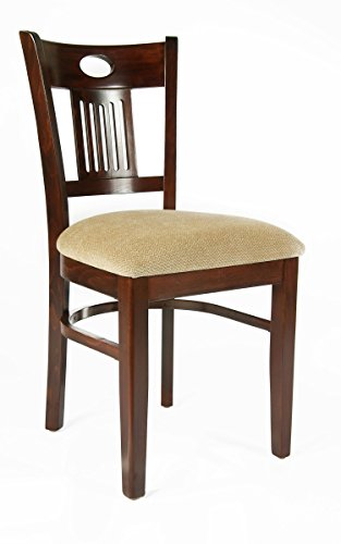Beechwood Mountain BSD-45S-MO  Solid Beech Wood Side Chairs in Medium oak (Beechwood Dining Chair)
