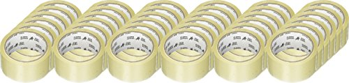 36 Rolls 2 in X 55 Yards 1.8 Mil Clear Packing Tape Brand NEW by tape