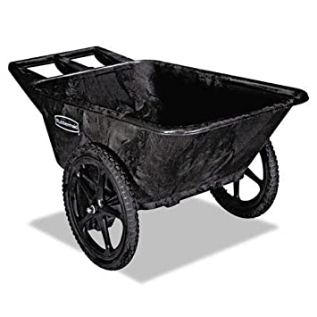 Amazon.com: Rubbermaid Commercial Prod 5642bla Big Wheel ...