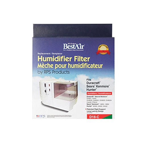 Humidiwick Humidifier Wick 9 in. x 8 in. x 2 in.-Mfg# D18-C - Sold As 7 Units