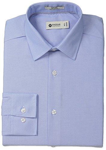 Haggar Oxford Collar Regular Sleeve