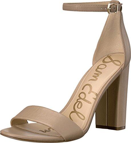 Sam Edelman Women's Yaro Dress Sandal Classic Nude Leather 6.5 M -