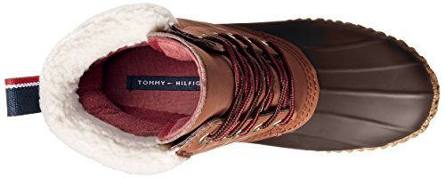Tommy Hilfiger Russel Pelle Stivale da Neve