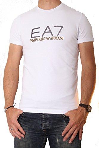 Emporio Armani Herren T-Shirt Weiß weiß