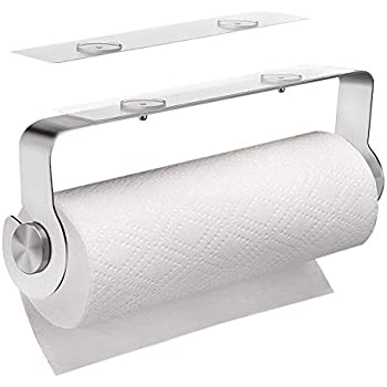 Bathroom Fixtures Bathroom Hardware 2pcs Paper Towel Holder Dispenser Under Cabinet Paper Roll Holder Rack Without Drilling For Kitchen Bathroom With The Best Service