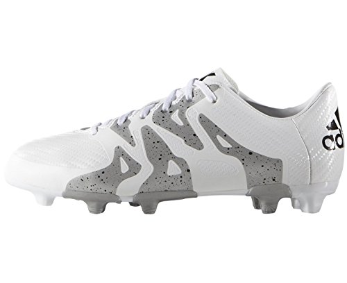 White FG Football adidas AG X15 3 Mixte de Chaussures Enfant 6zZ6Fwx