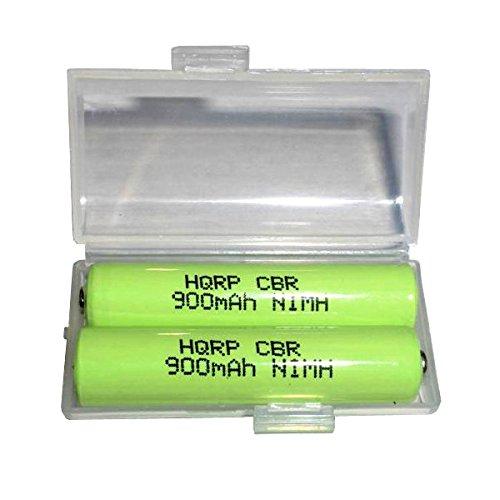 HQRP TWO Phone Batteries for Panasonic KX-TGA641T KX-TGA6...
