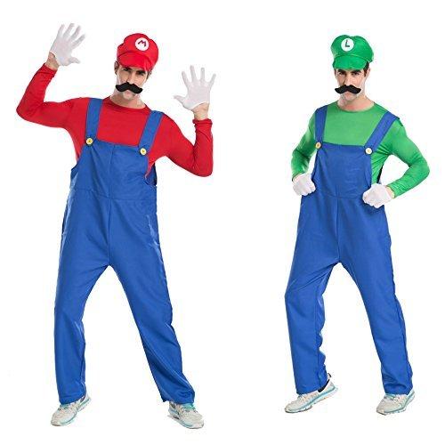 Super Mario Brothers Mario and Luigi set adult