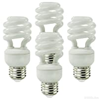 EcoSmart 60W Equivalent 5000K Spiral CFL Light Bulb, Daylight (4-Pack)