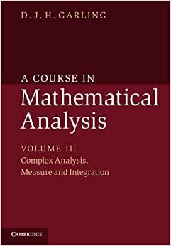 A Course in Mathematical Analysis: Volume 3