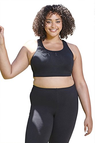 Always For Me A Big Attitude Womens Plus Size Racer Back Sports Bra - Featured on The Biggest Loser