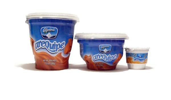 Arequipe Lovers Pack (2x 500gr., 2x250gr., 12x50gr.) by Alpina: Amazon.com: Grocery & Gourmet Food