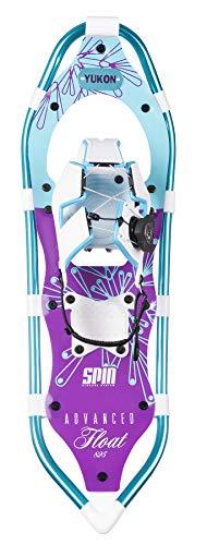 (Yukon Charlies Advanced Float Spin Women's Snowshoe, 825)