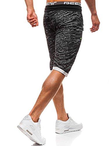 amp;l Uomo P Bolf Pantaloncini Fashion Shorts hl8569 – Nero Sportivi 120a gqwZOwF1