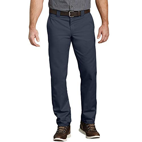 Dickies Men's Slim Taper Stretch Twill Work Pant