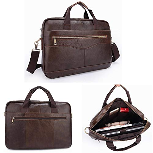 Yongse Men Briefcases Handbag Document Business Office Lapto