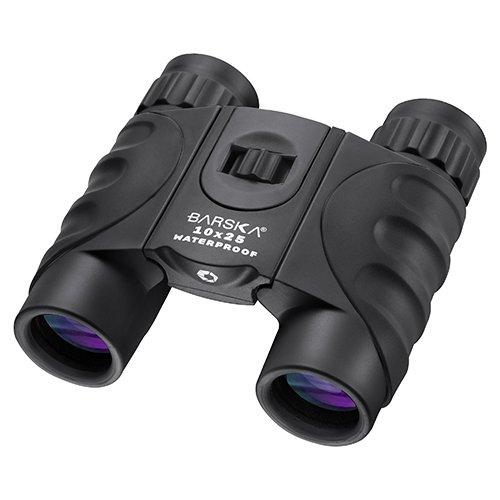 ab12725 Barska Coloradoレンズ、防水双眼、10 x 25 mm、ブラックとブルーレンズ、Clamパッケージ B06Y4R5XXX