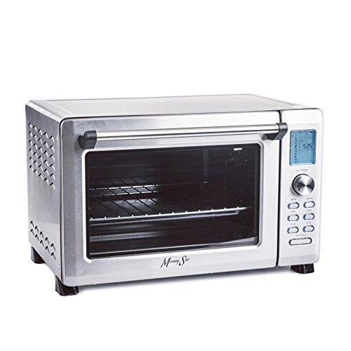 Morning Star - Extra Large -12-Slice Countertop Digital Infrared Convection Toaster Oven, Stainless Steel (Toaster Oven Infrared compare prices)