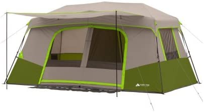 Details about  /Instant Cabin Tent 11 Person Private Room Large Front Awning Outdoor Sleeping