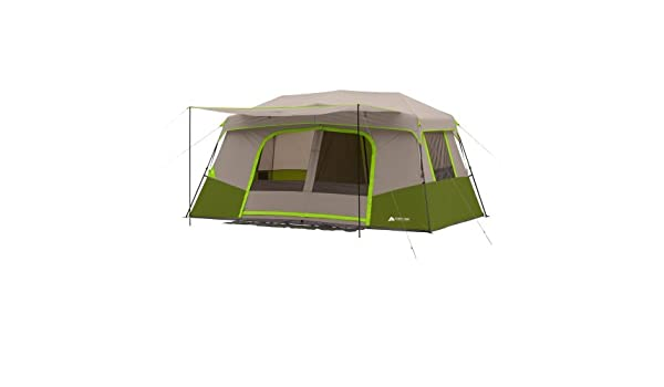 Amazon.com : Ozark Trail 11-Person Instant Cabin with Private Room (Green) : Sports & Outdoors