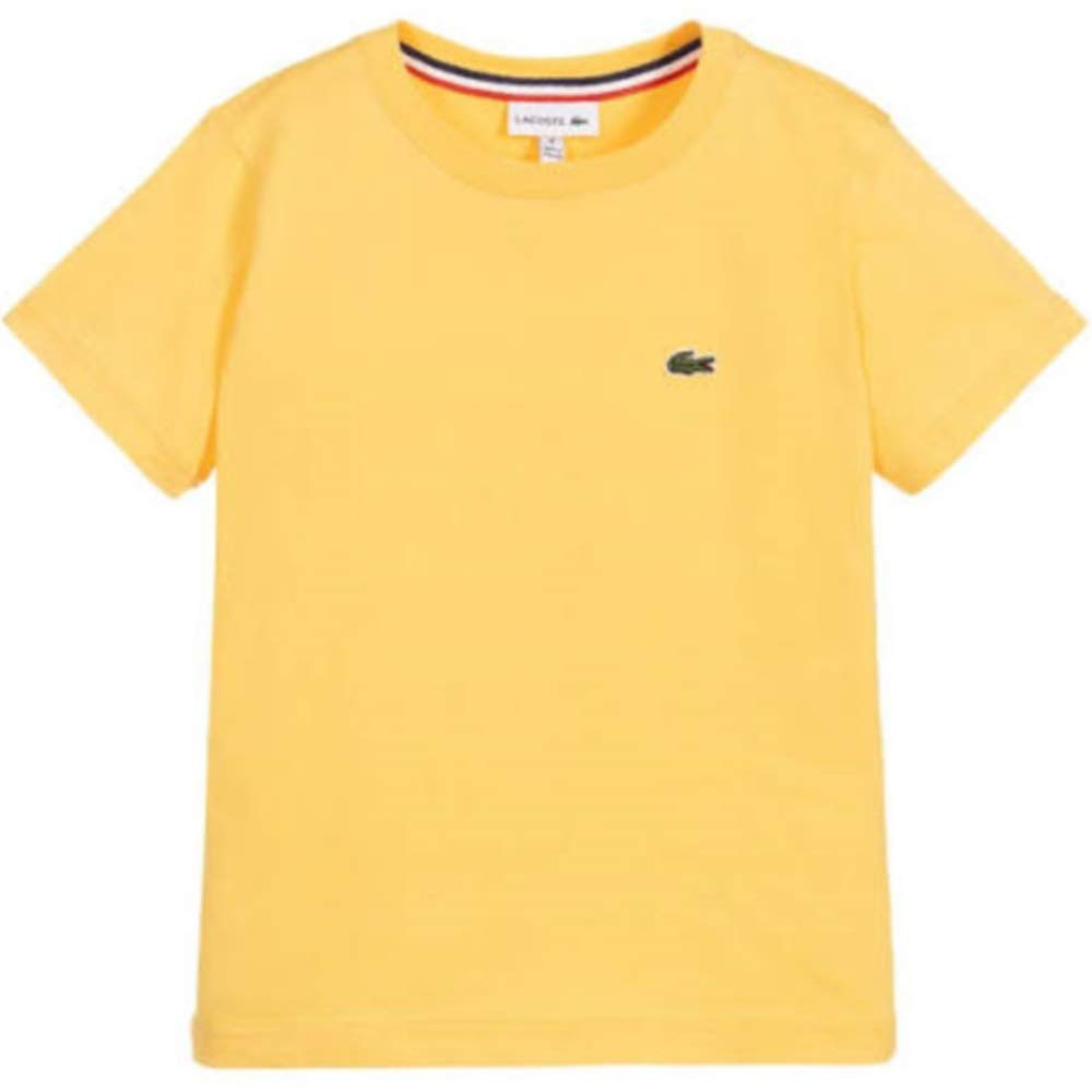 Lacoste Summer 2020 - Camiseta para niño, Color Amarillo: Amazon ...