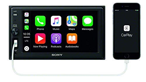 "Sony XAVAX1000 6.2"" (15.7 cm) Apple CarPlay Media Receiver with Bluetooth from Sony"