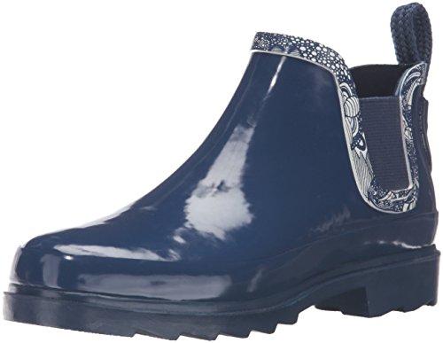 (The Sak Women's Rhyme Rain Shoe, Navy Spirit Desert, 6 M US)