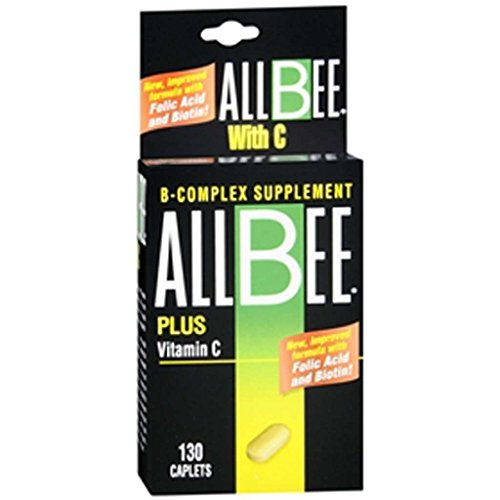 Cheap Allbee B-Complex With Vitamin C Caplets – 130 Caplets