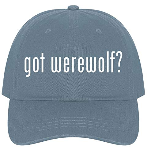 The Town Butler got Werewolf? - A Nice Comfortable Adjustable Dad Hat Cap, Light Blue]()