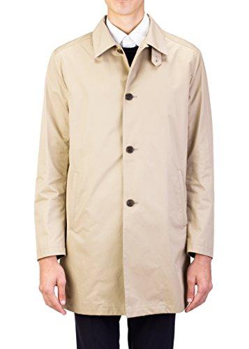 Prada Men's Waterproof Aviation Trench Coat Cloak Jacket Khaki