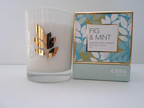 Design Citta - Citta Design - Fig & Mint Soy Candle