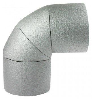 Bogen mit 22mm Durchmesser Rohrisolierung 13mm Dämmung