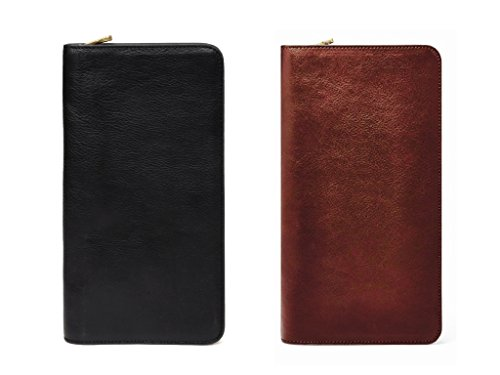 VMA Travel Wallet Passport Holder Genuine Leather - Passport Holder cover case-Travel organizer|Best Christmas Gift for him, her