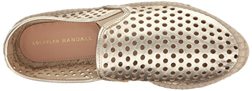 Women's Flat Loeffler Ballet Rowan Gold Goat Light Perforated Randall OAAU7apqZ