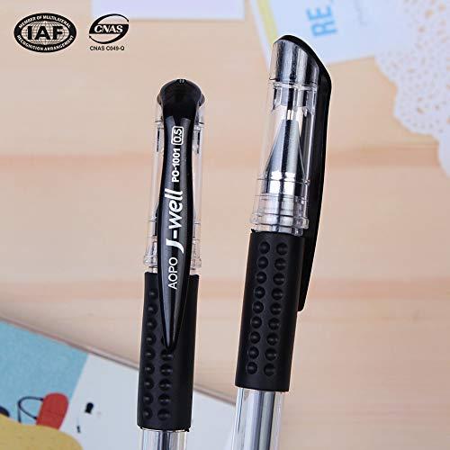 Pens,Retractable Premium Gel Ink Roller Ball Fine Point, Dozen Box, Black Ink