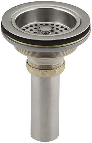 (KOHLER K-8801-VS Duostrainer Sink Strainer, Vibrant Stainless (Renewed))