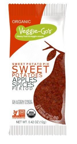 veggie-go 's Chewy Fruit & VeggieスナックグルテンフリーSweet Potato Pie – - 0.42 Oz by Vitacoco B01LFM3EJK